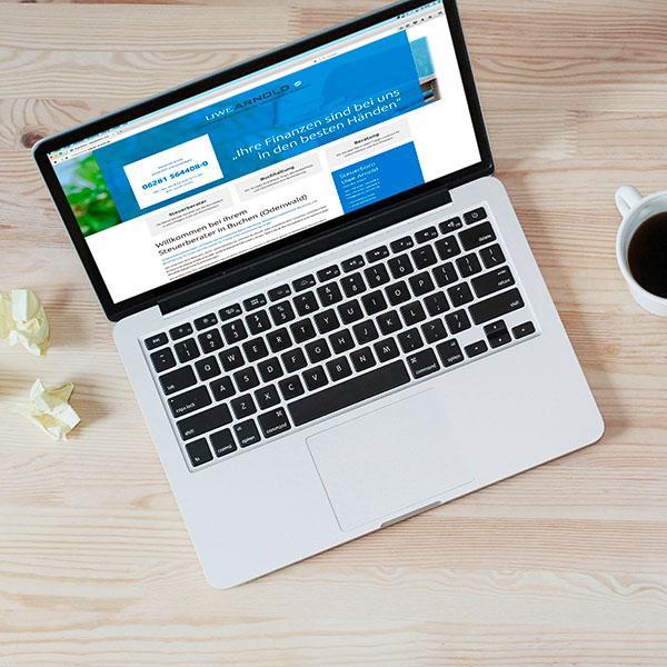 Neues Webdesign für das Steuerbüro Arnold
