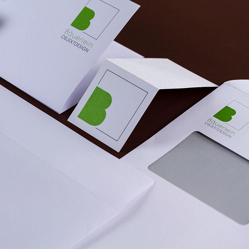 Design für Bäuerlein Objektdesign