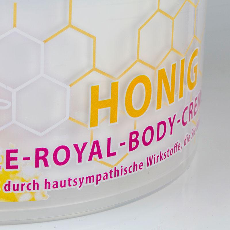 Körpercreme mit Gelee Royale modern verpackt