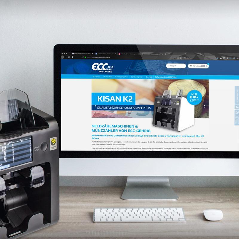 Onlineshop für Geldzählmaschinen