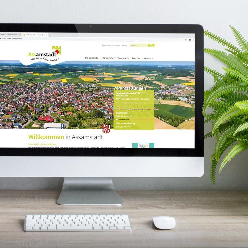 Neue Webseite für die Gemeinde Assamstadt