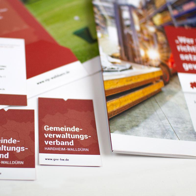 Werbung für den Verbandsindustriepark in Walldürn