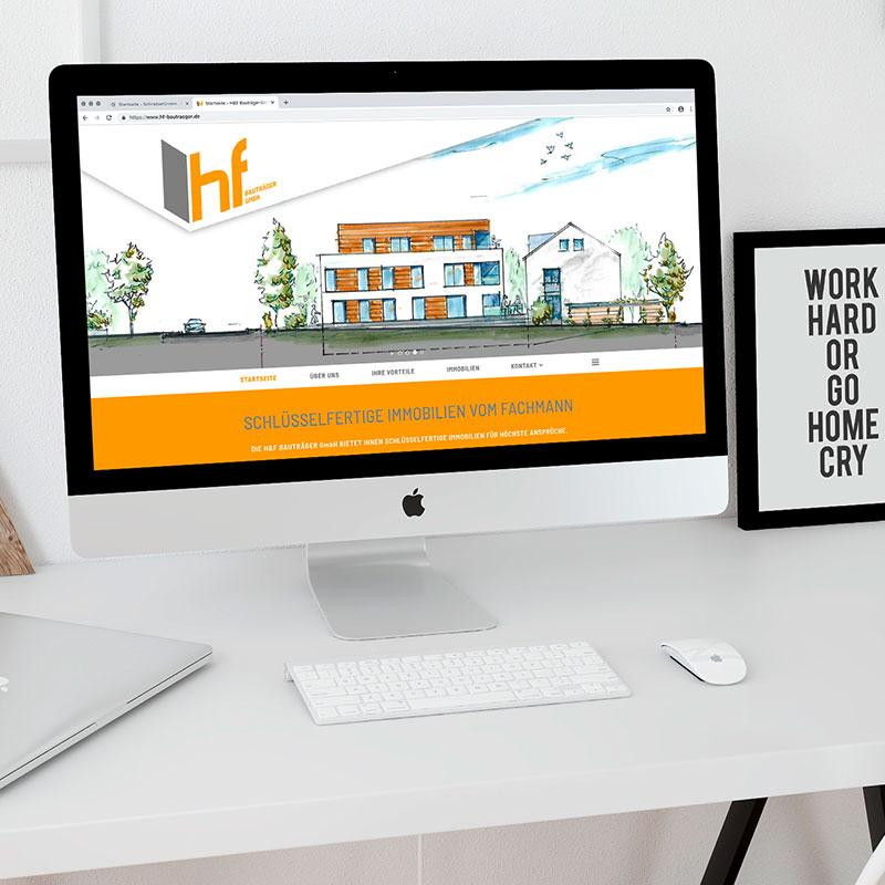 H&F Bauträger baut, sie wohnen (oder vermieten)