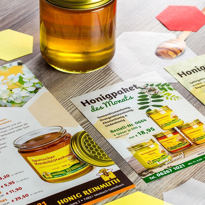 Neues Corporate Design für Honig Reinmuth