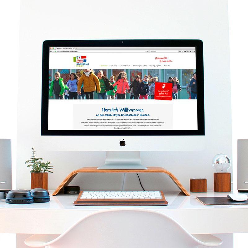 Die Jakob-Mayer-Grundschule im Web