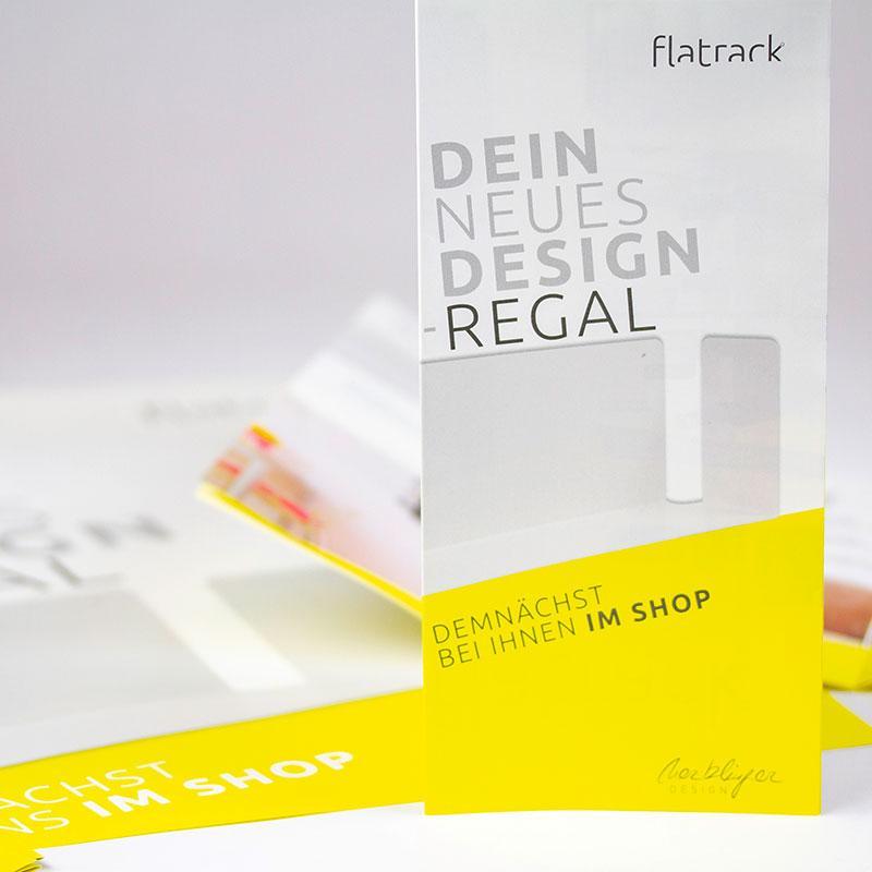Preisliste und Flyer für Merklinger Design