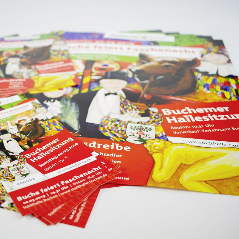 Faschenachts-Programm für die FG Narrhalla Buchen e.V. 2019