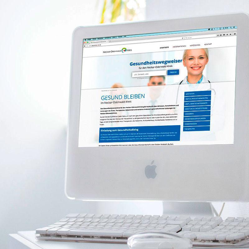 Gesundheitswegweiser online