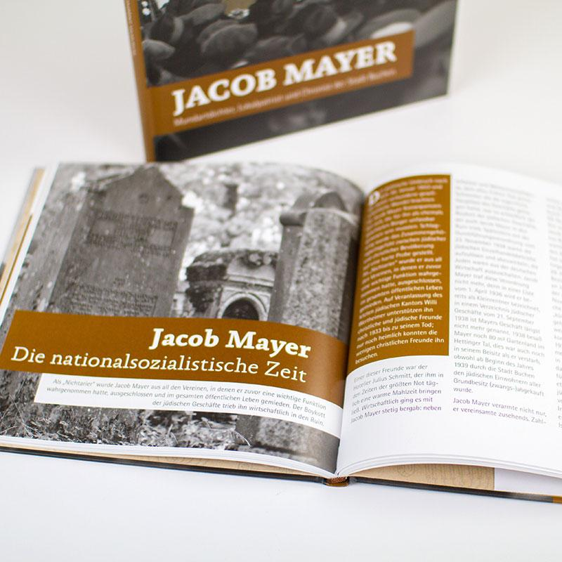 Jacob Mayer in Buchform