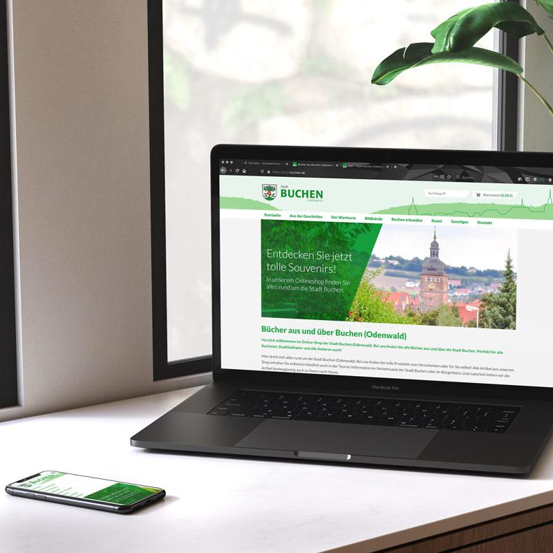 Onlineshop für die Stadt Buchen (Odenwald)