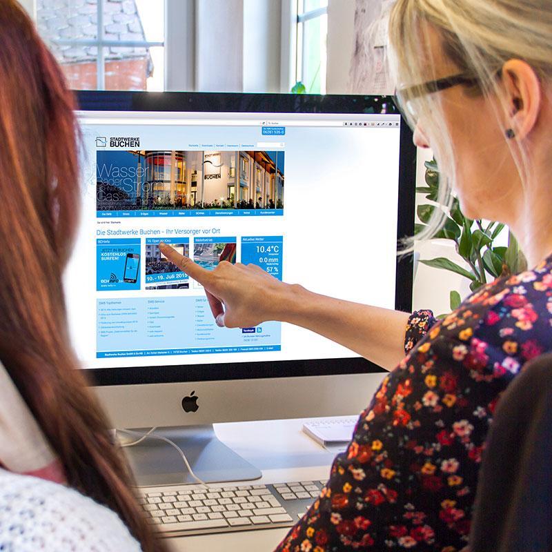 Neues im Web - Stadtwerke Buchen
