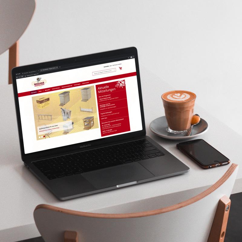 Onlineshop für die Wagner Imkertechnik GmbH & Co. KG