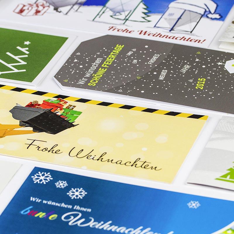 Weihnachtskarten, Weihnachtsbriefpapier & Adventskalender