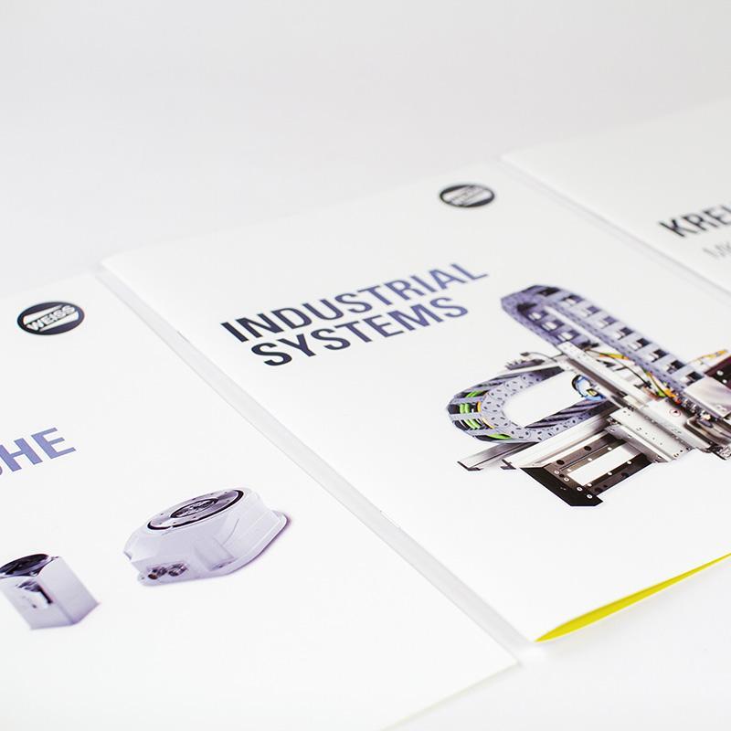 Produkt-Flyer für die WEISS GmbH