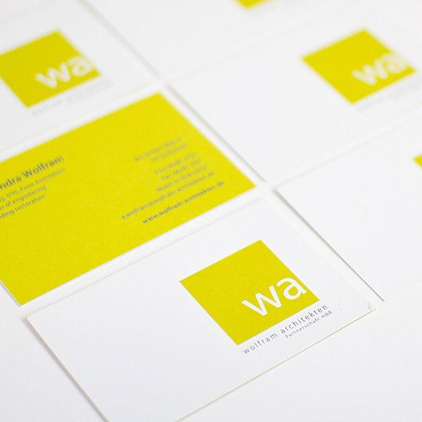 Neue Farbe für Wolfram Architekten