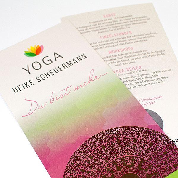 Yoga in Buchen mit Heike Scheuermann